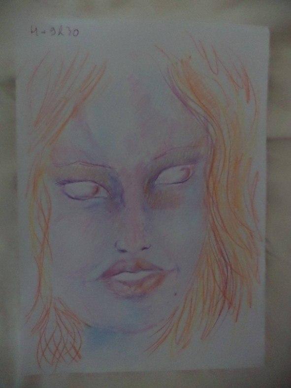 Dziewczyna wzieła LSD i przez cała noc malowała swoje portrety 11