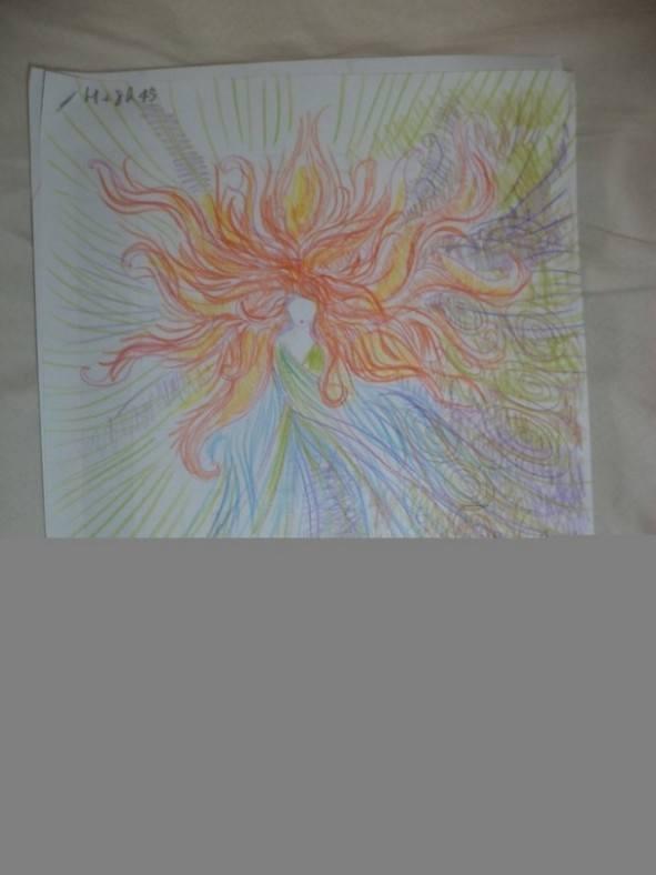 Dziewczyna wzieła LSD i przez cała noc malowała swoje portrety 10