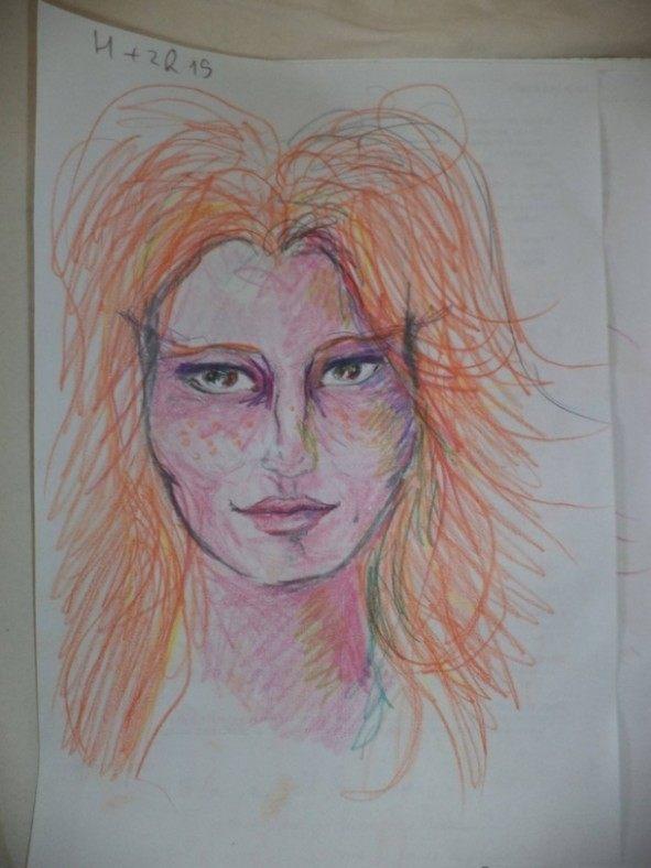Dziewczyna wzieła LSD i przez cała noc malowała swoje portrety 4