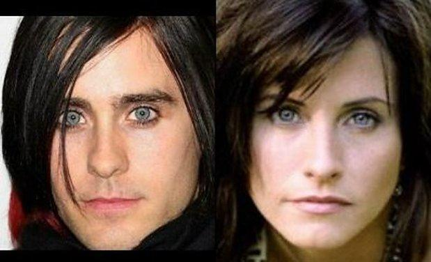 Jared Leto i Courteney Cox 17