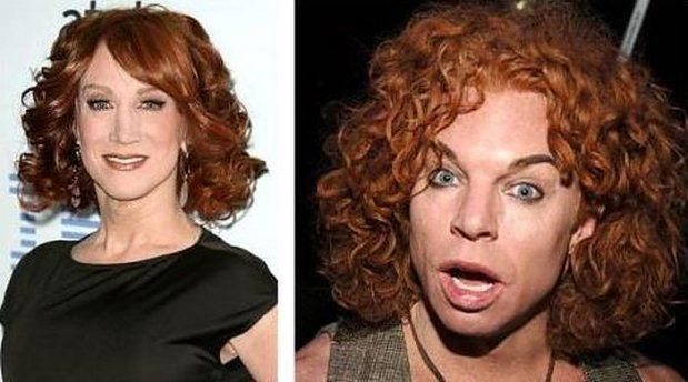 Kathy Griffin i Carrot Top 16
