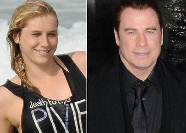 Ke$ha i John Travolta 6