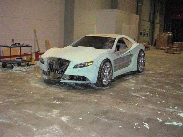 Mercedes-Benz CLK przerobka 11