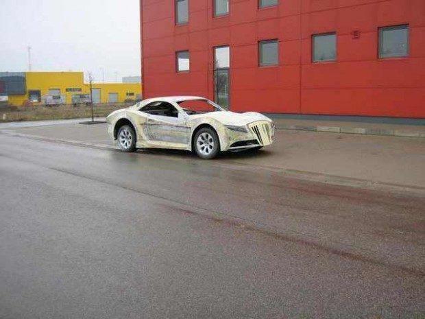 Mercedes-Benz CLK przerobka 16