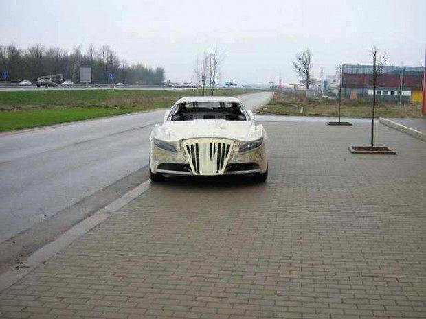 Mercedes-Benz CLK przerobka 17