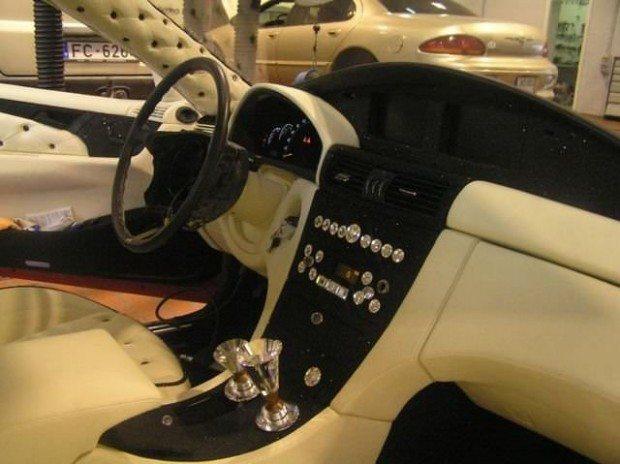 Mercedes-Benz CLK przerobka 22