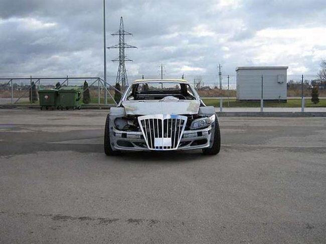 Mercedes-Benz CLK przerobka 4