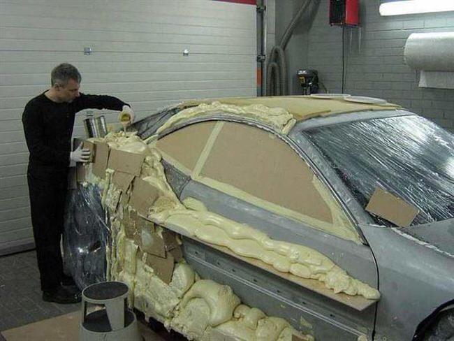 Mercedes-Benz CLK przerobka 5