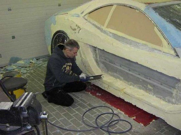 Mercedes-Benz CLK przerobka 7