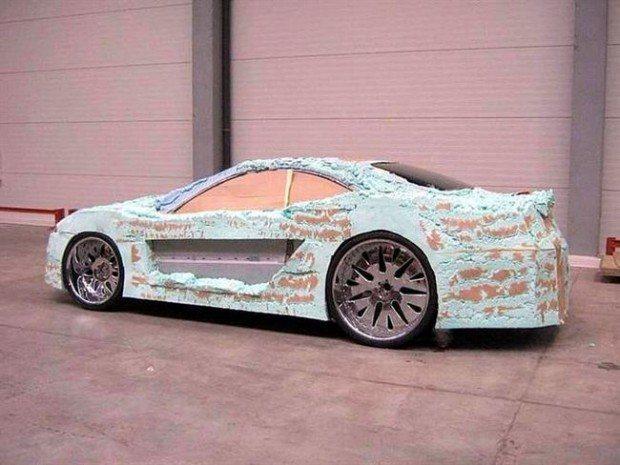 Mercedes-Benz CLK przerobka 8