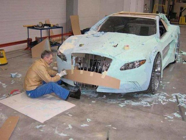 Mercedes-Benz CLK przerobka 9