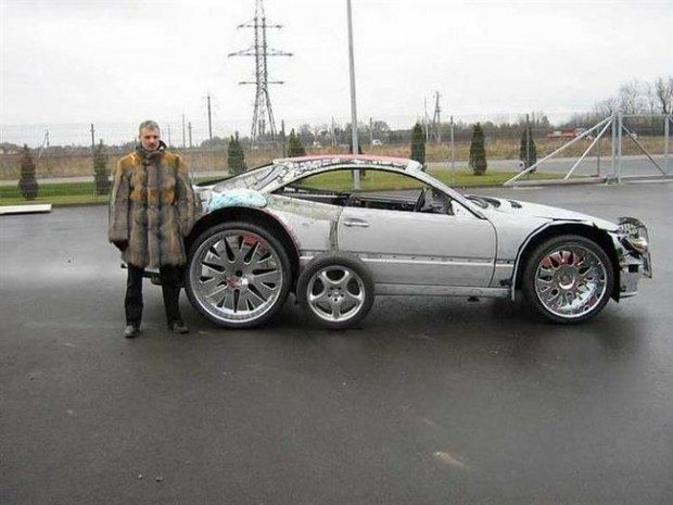 Mercedes-Benz CLK przerobka