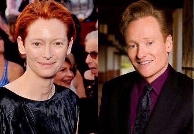 Tilda Swinton i Conan OBrien 2
