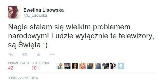 twitter ewelina lisowska