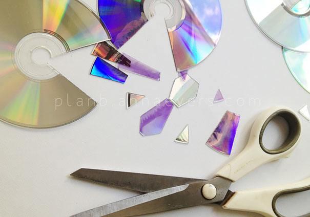 21 niesamowitych pomysłów na wykorzystanie starych płyt CD 14