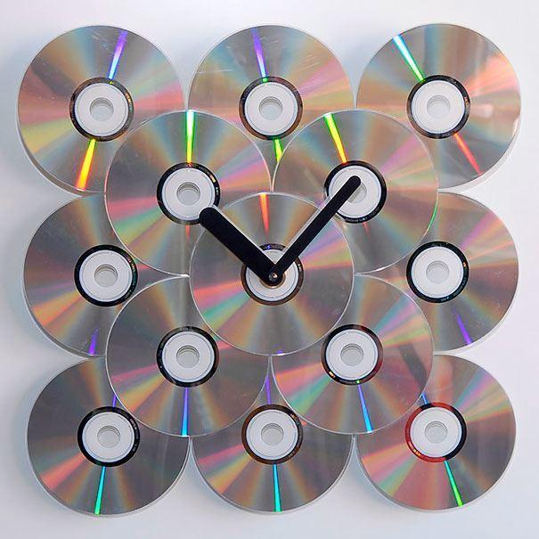 21 niesamowitych pomysłów na wykorzystanie starych płyt CD 17