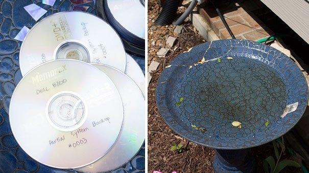 21 niesamowitych pomysłów na wykorzystanie starych płyt CD 2