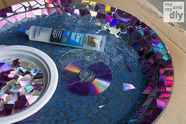 21 niesamowitych pomysłów na wykorzystanie starych płyt CD 2a