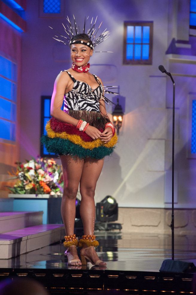 Miss Universe 2015 - 60 - Nigeria