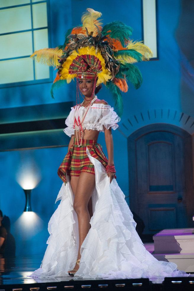 Miss Universe 2015 - 77 - St Lucia