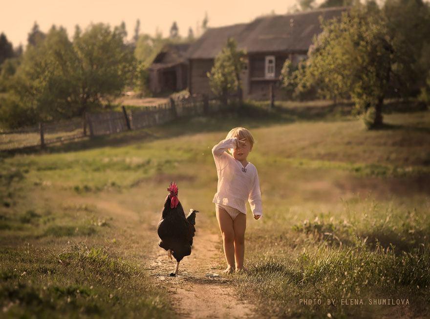 dzieci zwierzęta 2