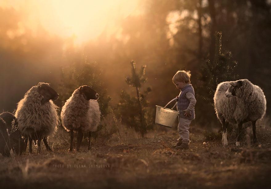 dzieci zwierzęta 7