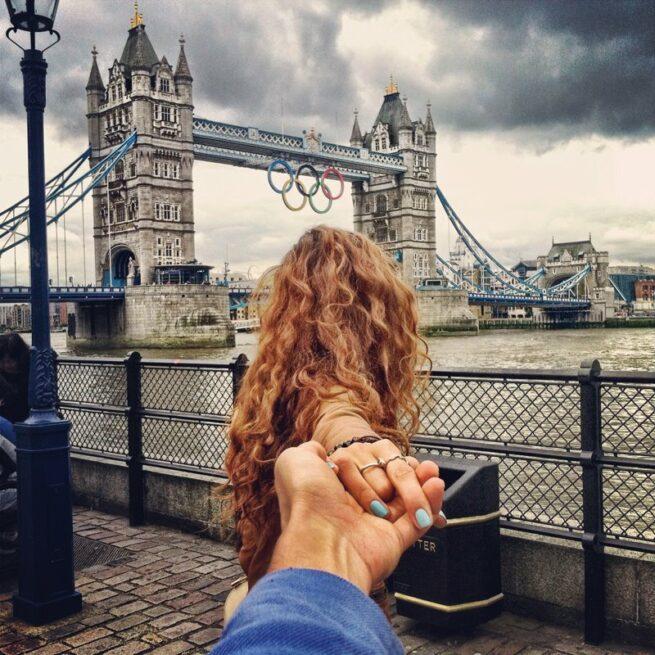 Follow me Murad Osmann w podróży po całym świecie za swoją dziewczyną Natalią Zakharovą 14