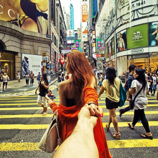 Follow me Murad Osmann w podróży po całym świecie za swoją dziewczyną Natalią Zakharovą  2