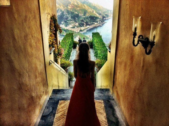 Follow me Murad Osmann w podróży po całym świecie za swoją dziewczyną Natalią Zakharovą 23