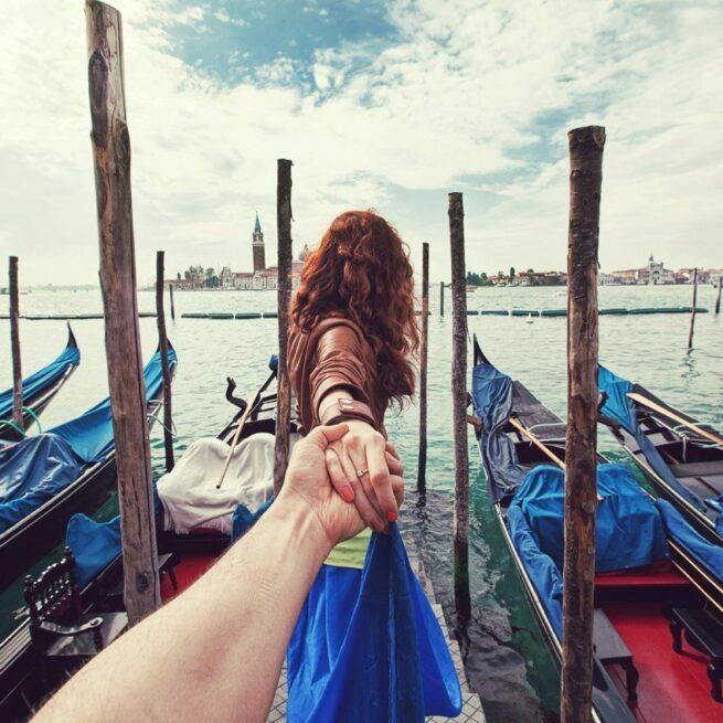 Follow me Murad Osmann w podróży po całym świecie za swoją dziewczyną Natalią Zakharovą 29