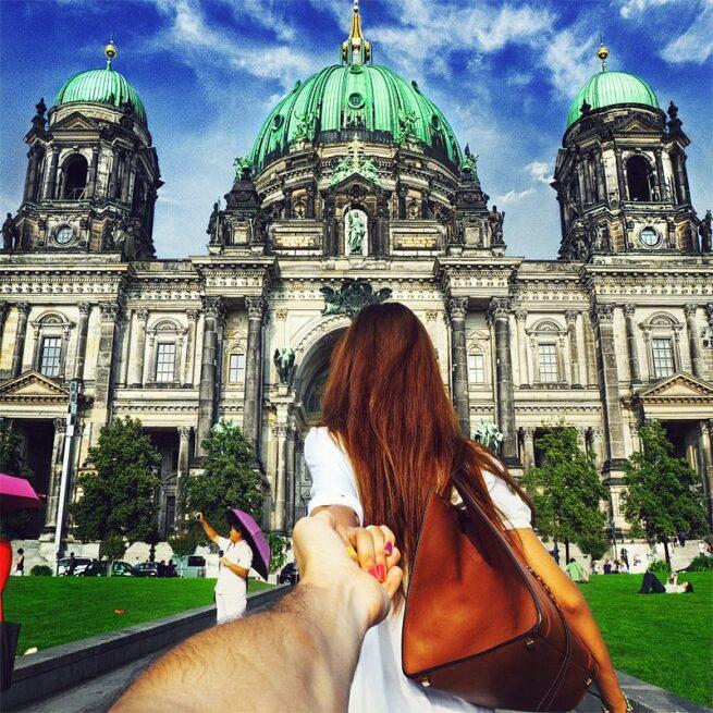 Follow me Murad Osmann w podróży po całym świecie za swoją dziewczyną Natalią Zakharovą 34