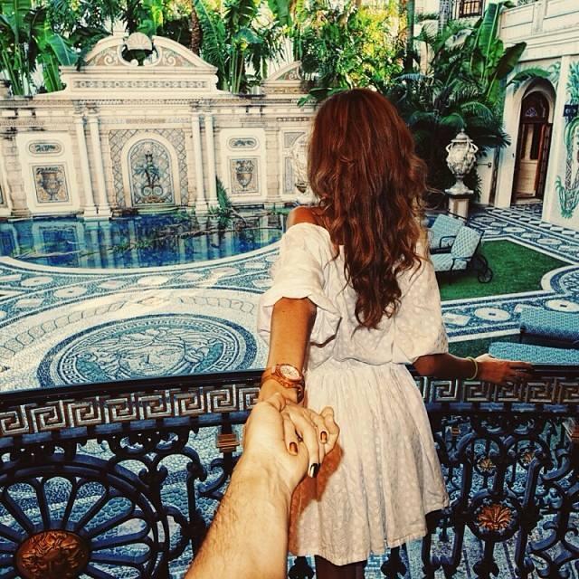 Follow me Murad Osmann w podróży po całym świecie za swoją dziewczyną Natalią Zakharovą 38