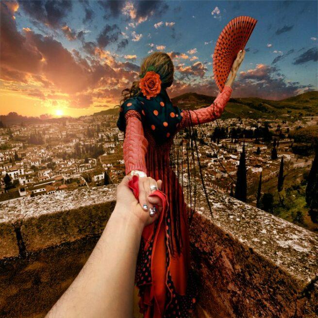 Follow me Murad Osmann w podróży po całym świecie za swoją dziewczyną Natalią Zakharovą  4