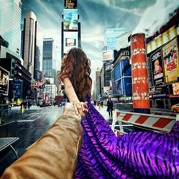 Follow me Murad Osmann w podróży po całym świecie za swoją dziewczyną Natalią Zakharovą 42