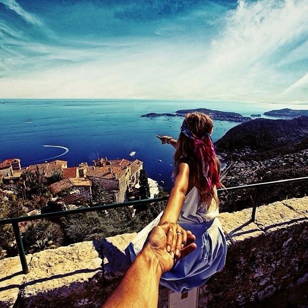 Follow me Murad Osmann w podróży po całym świecie za swoją dziewczyną Natalią Zakharovą 48