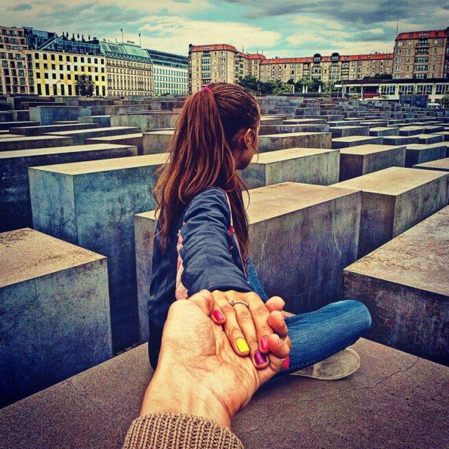 Follow me Murad Osmann w podróży po całym świecie za swoją dziewczyną Natalią Zakharovą  5