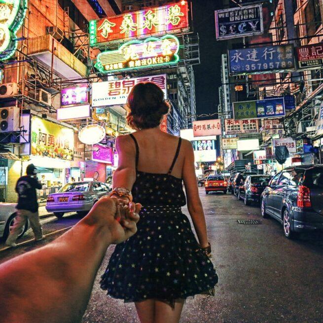 Follow me Murad Osmann w podróży po całym świecie za swoją dziewczyną Natalią Zakharovą  6