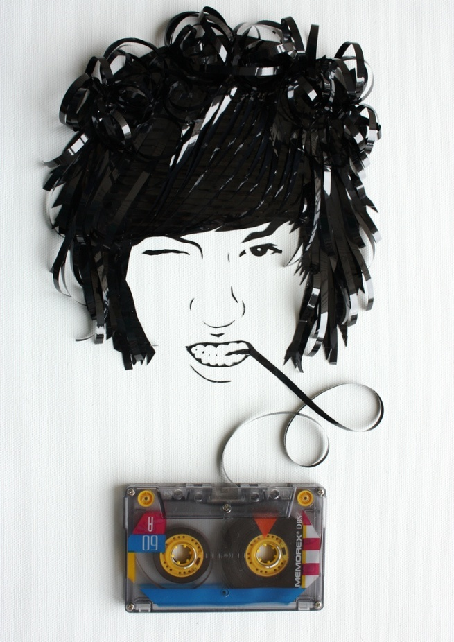 Ghost in the Machine - niesamowite portrety z taśmy magnetofonowej 5