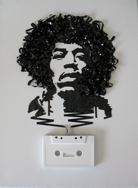 Ghost in the Machine - niesamowite portrety z taśmy magnetofonowej 7