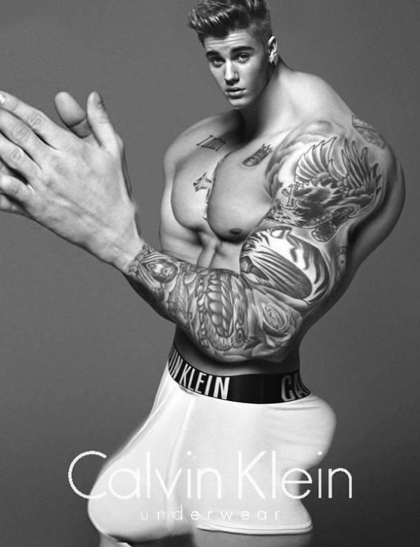Justin Bieber w kampani calvin klein 7