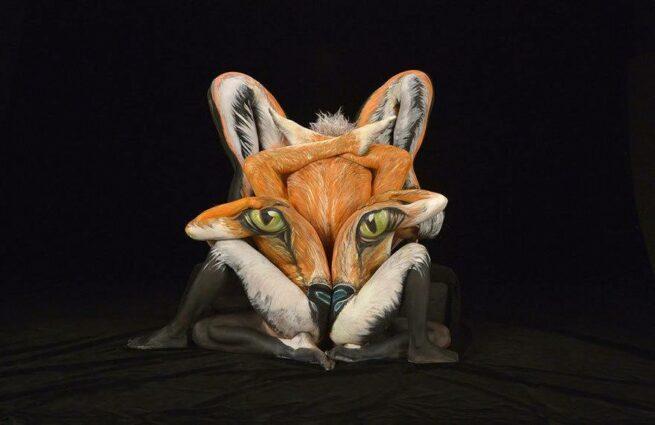 ludzie przemieniają się w zwierzęta lis