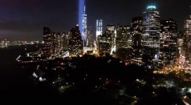Przelot dronem nad Nowym Jorkiem 1