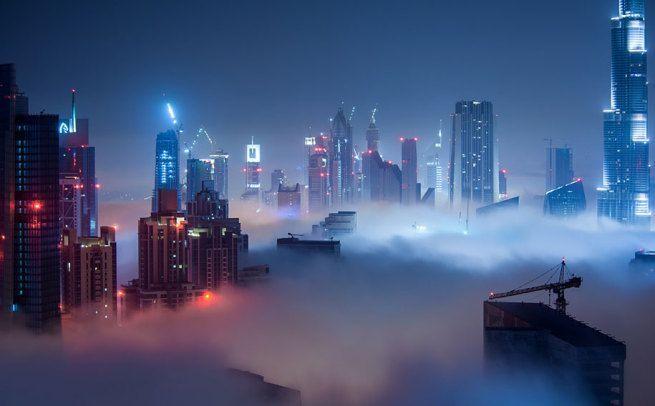 Przepiękne Zdjęcia Miasta W Chmurach Dubaj 10