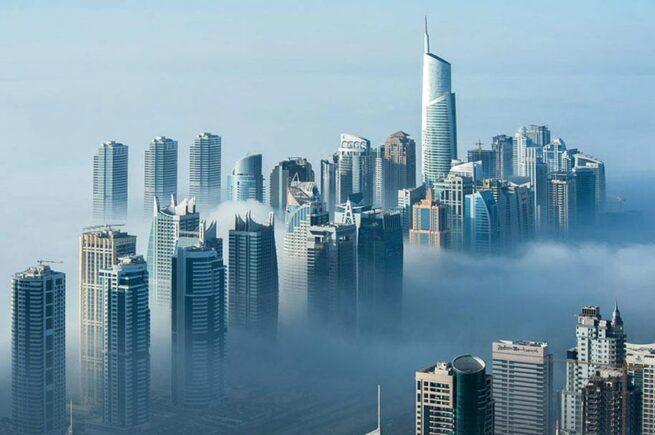 Przepiękne Zdjęcia Miasta W Chmurach Dubaj  12