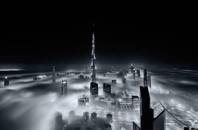 Przepiękne Zdjęcia Miasta W Chmurach Dubaj  3