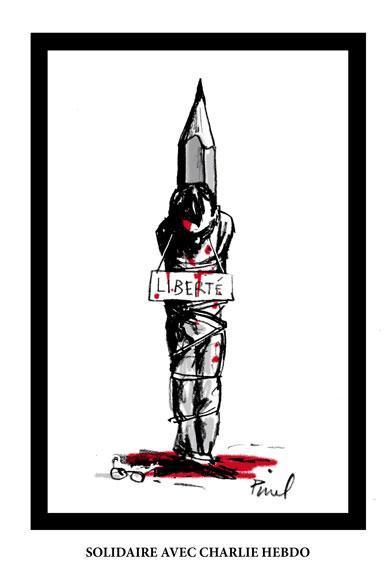 Rysownicy odpowiadają na zamach w redakcji Charlie Hebdo 14