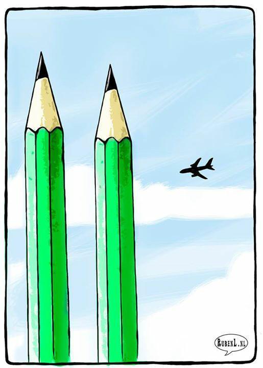Rysownicy odpowiadają na zamach w redakcji Charlie Hebdo 17