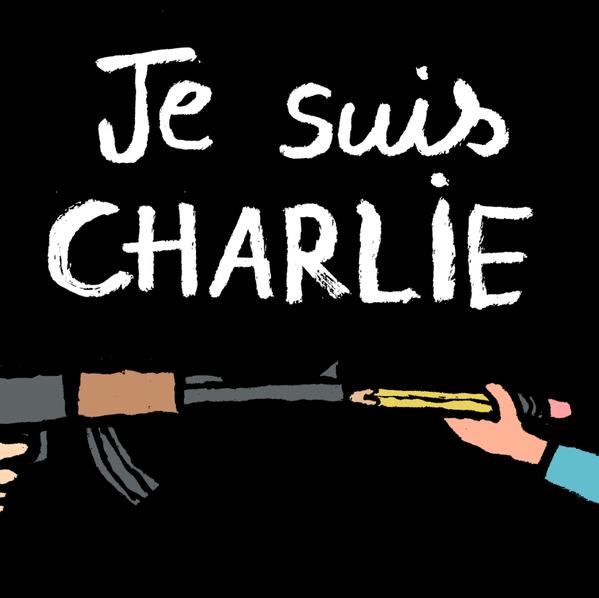 Rysownicy odpowiadają na zamach w redakcji Charlie Hebdo 18