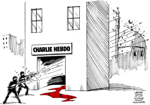 Rysownicy odpowiadają na zamach w redakcji Charlie Hebdo 20