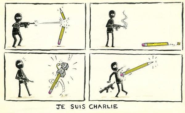 Rysownicy odpowiadają na zamach w redakcji Charlie Hebdo  3